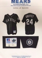 Ken Griffey Jr. Seattle Mariners 1999 Game-Used Away Jersey (Mears LOA) at PristineAuction.com