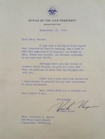 Richard Nixon Signed Typed Letter (PSA LOA) at PristineAuction.com