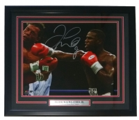 Floyd Mayweather Jr. Signed 22x27 Custom Framed Photo Display (Beckett COA)