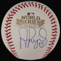 Albert Pujols Signed Official 2011 World Series Baseball (MLB) at PristineAuction.com