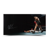 "Mike Tyson Signed ""Knockout"" 36x18 Limited Edition Photo (UDA)"