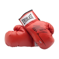 Mike Tyson Signed Pair of Everlast Boxing Gloves (UDA COA) at PristineAuction.com