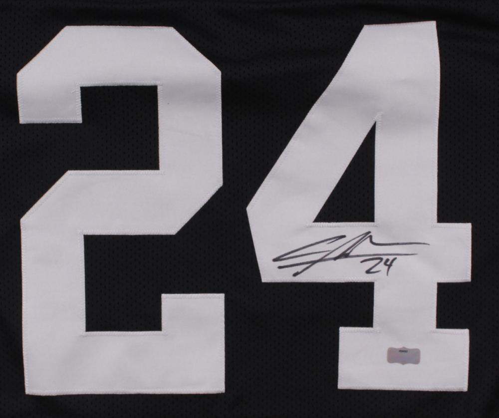 Charles Woodson Signed Raiders Jersey (Radtke COA) at PristineAuction.com charles  woodson framed jersey 12c756df3