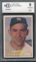 1957 Topps #2 Yogi Berra (BCCG 9)