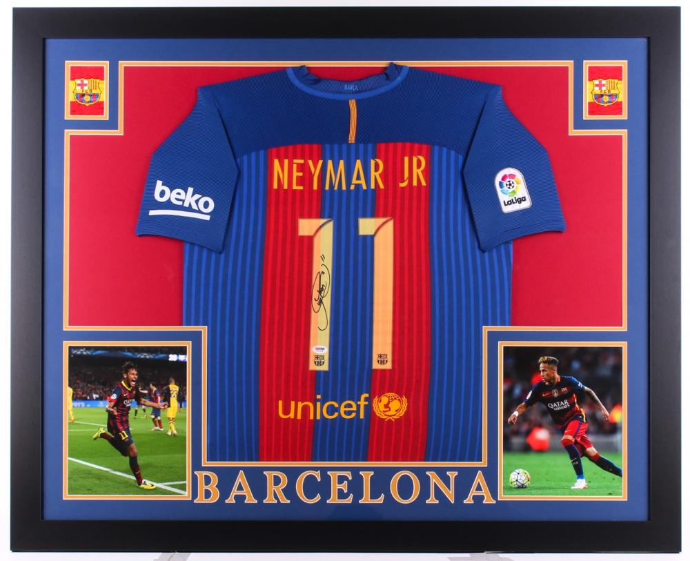 24b2949d6e3 Neymar Signed Barcelona 35.5