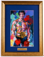 "LeRoy Neiman ""Rocky"" 15.x19.5 Custom Framed Print Display"