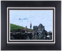 "Daisy Ridley Signed ""Star Wars: The Force Awakens"" 19.5x23.5 Custom Framed Photo (PSA COA)"