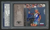 Anna Kournikova Signed 2003 NetPro International Series #90 (PSA Encapsulated)