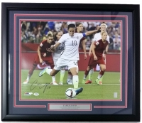 Carli Lloyd Signed Team USA 22x27 Custom Framed Photo Display (PSA COA) at PristineAuction.com