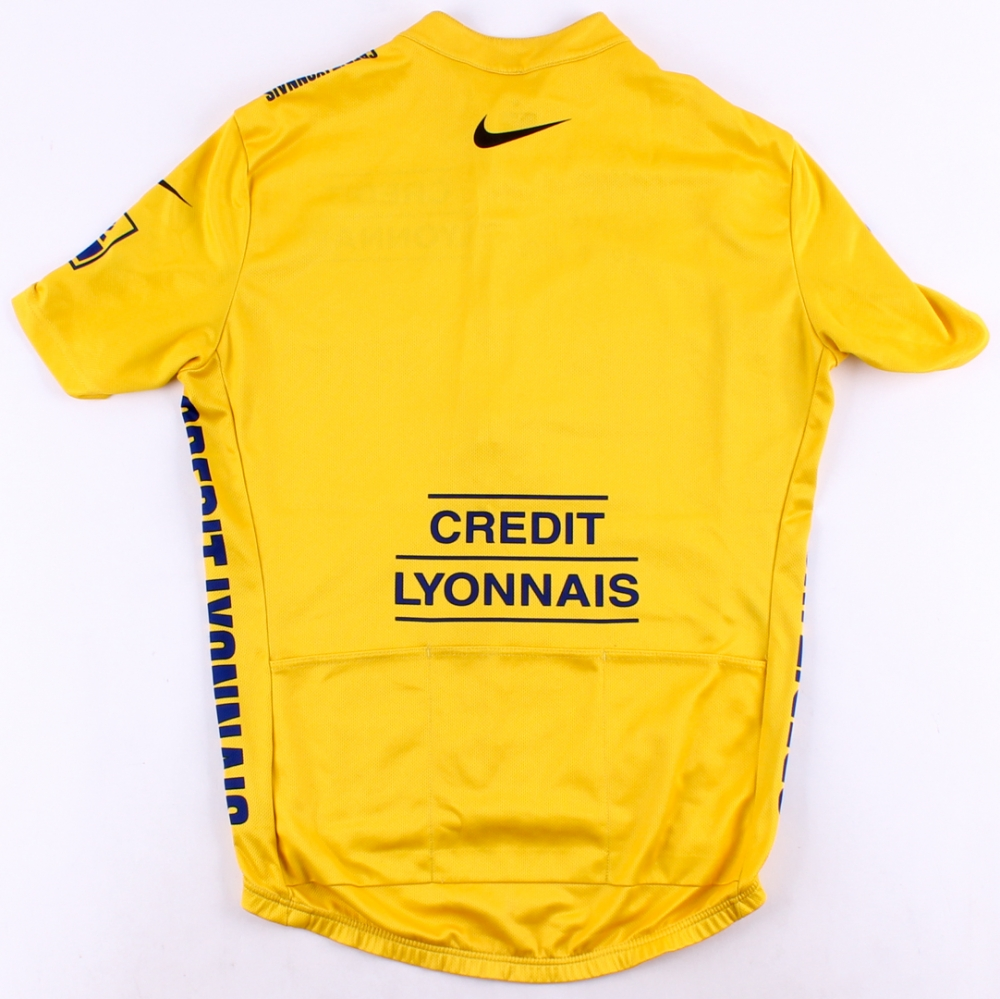 Lance Armstrong Signed Nike 2005 Tour De France Cycling Jersey Inscribed