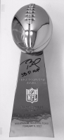 """Tom Brady Signed Replica Full Size Limited Edition Super Bowl 51 Lombardi Trophy Inscribed """"SB 51 MVP"""" #12/12 (TriStar) at PristineAuction.com"""