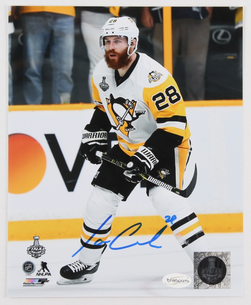 Ian Cole Signed Penguins 8x10 Photo (TSE) at PristineAuction.com