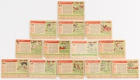 1955 Topps Complete Set of (206) Baseball Cards with #210 Duke Snider, #50 Jackie Robinson, #2 Ted Williams, #31 Warren Spahn, #164 Roberto Clemente, #194 Willie Mays at PristineAuction.com