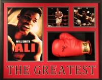 "Will Smith Signed ""Ali"" 30x25x4 Custom Framed Shadowbox Boxing Glove Display (PSA COA)"