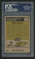 Eugene Kranz Signed 2010 Topps Heritage News Flashbacks #NF7 Apollo Program Trading Card (PSA Encapsulated) at PristineAuction.com