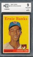 1958 Topps #310 Ernie Banks (BCCG 9)