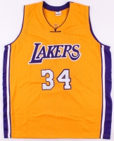 Shaquille O'Neal Signed Lakers Jersey (PSA COA) at PristineAuction.com