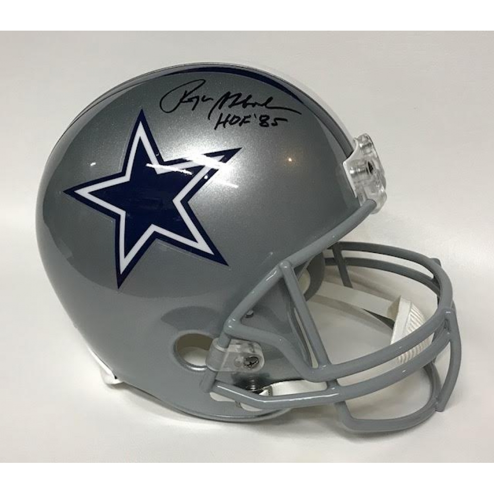 280addd6a Roger Staubach Signed Cowboys Full-Size Helmet Inscribed