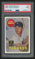 1996 Topps Mantle #19 Mickey Mantle/1969 Topps (PSA 9)