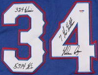 """Nolan Ryan Signed Rangers Jersey Inscribed """"7 No-Hitters"""", """"324 Wins"""" & """"5,714 K's"""" (PSA COA) at PristineAuction.com"""