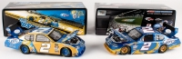 Lot of (2) Kurt Busch Signed Dodge Charger Die Cast Cars with (1) 2009 LE Platinum Series & (1) 2010 LE Platinum Series (JSA COA)