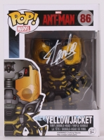 "Stan Lee Signed Yellow Jacket ""Ant-Man"" Marvel POP! Vinyl Figure (Lee Hologram & Radtke Hologram)"