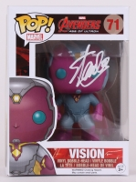 "Stan Lee Signed Vision ""Avengers"" Marvel POP! Vinyl Figure (Lee Hologram & Radtke COA)"