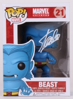 "Stan Lee Signed ""Beast"" Marvel POP! Vinyl Figure (Lee Hologram & Radtke COA)"