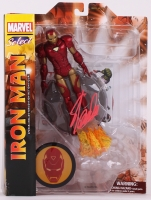 "Stan Lee Signed ""Iron Man"" Marvel Select Action Figure (Lee Hologram & Radtke COA)"