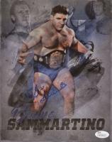 Bruno Sammartino Signed WWE 8x10 Photo (JSA COA)