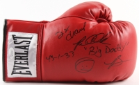 "Riddick Bowe Signed Boxing Glove Inscribed ""'Big Daddy'"", ""2X Champ"" & ""43-1-33"" (JSA COA)"