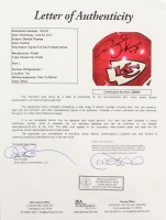 Derrick Thomas Signed Chiefs Full-Size Authentic On-Field Helmet (JSA LOA) at PristineAuction.com