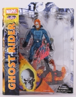 "Stan Lee Signed ""Ghost Rider"" Marvel Select Action Figure (Lee Hologram & Radtke COA)"