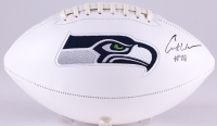 Curt Warner Signed Seahawks Logo Football (JSA Hologram) at PristineAuction.com