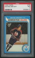 1979-80 Topps #18 Wayne Gretzky RC (PSA 7)