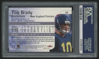 Tom Brady Signed 2000 Impact #27 RC (PSA Encapsulated) at PristineAuction.com
