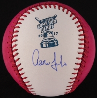 "Aaron Judge Signed 2017 All-Star Game Home Run Derby ""Money Ball"" Baseball (MLB Hologram & Fanatics COA) at PristineAuction.com"