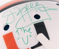 "Jim Kelly Signed University of Miami Full-Size Authentic On-Field Helmet Inscribed ""The ""U"""" (JSA COA) at PristineAuction.com"