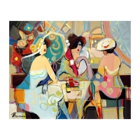 "Isaac Maimon Signed ""Remarkable Moments"" 24x30 Original Acrylic Painting on Canvas at PristineAuction.com"
