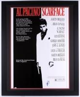 "Al Pacino Signed ""Scarface"" 36x44 Custom Framed Movie Poster Display (PSA COA)"