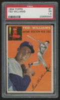 1954 Topps #1 Ted Williams (PSA 1.5)