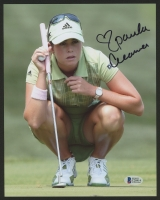 Paula Creamer Signed 8x10 Photo With Inscription (Beckett COA)