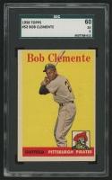 1958 Topps #52A Roberto Clemente (SGC 5)
