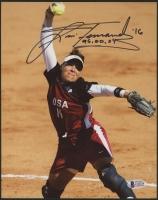 "Lisa Fernandez Signed Team USA 8x10 Photo Inscribed ""96, 00, 04"" (Beckett COA)"