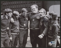 Dan Gable Signed Team USA 8x10 Photo (Beckett COA)