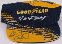 Dale Earnhardt Sr. Signed Goodyear Snapback Hat (JSA COA)
