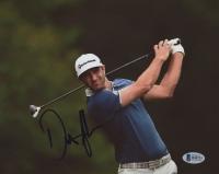 Dustin Johnson Signed 8x10 Photo (Beckett COA)