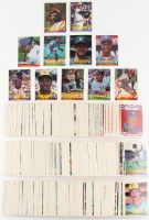 1984 Donruss Complete Set of (660) Baseball Cards with #248 Nolan Ryan, #68 Darryl Strawberry, #53 George Brett, #41 Joe Carter, #311 Ryne Sangberg, #324 Tony Gwynn, #61 Pete Rose, #151 Wade Boggs, #183 Mike Schmidt