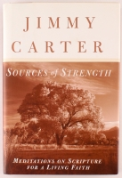 "Jimmy Carter Signed ""Sources of Strength"" Hardcover Book (JSA COA)"