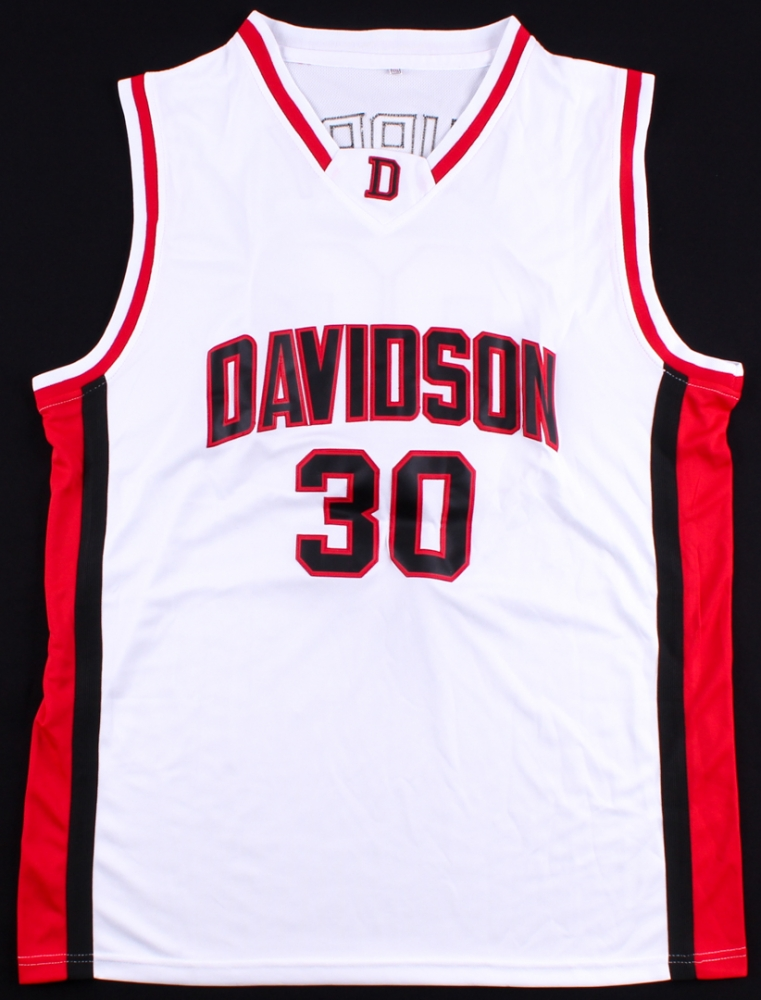 Stephen Curry Signed Davidson Wildcats Jersey (JSA LOA) at  PristineAuction.com e0b53721d